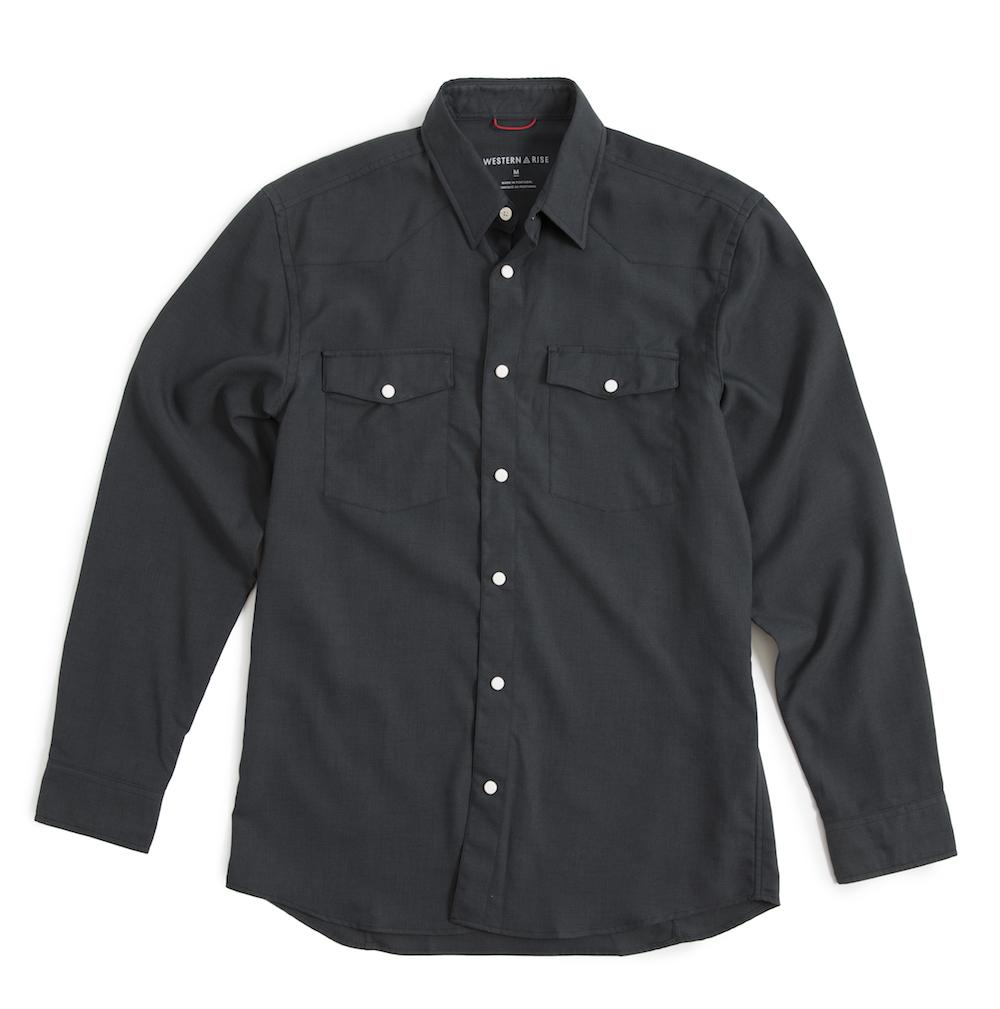 Snap Button Shirt of the Day: Western Rise - Airlight Western Shirt