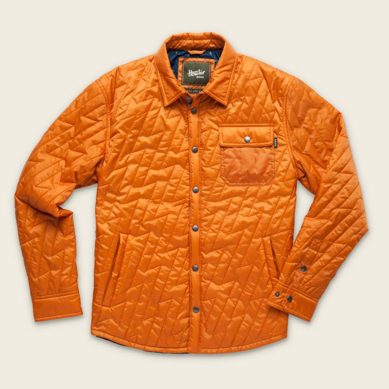 Snap Button Shirt of the Day: Howler Brothers - Lightning Quilted Jacket