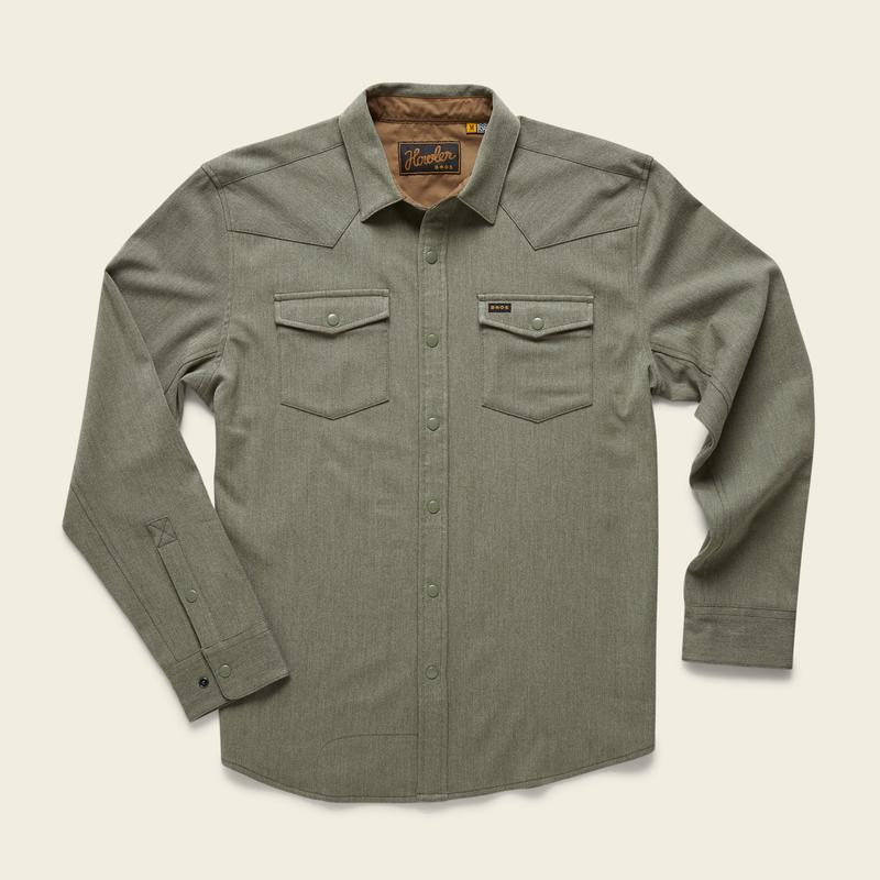 Snap Button Shirt of the Day: Howler Brothers - Stockman Stretch Snapshirt
